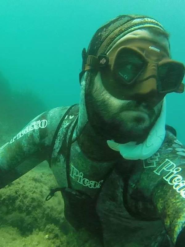 Máscaras de pesca submarina